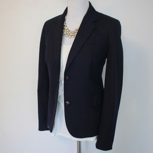J. CREW Size 8 Blue Jacket Blazer